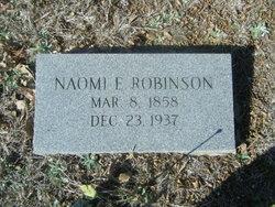 Naomi E <I>Smith</I> Robinson
