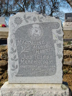 "Magdaline Marie ""Lena"" <I>Gall</I> Hawver"