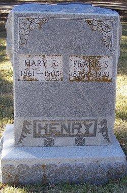 Mary E <I>Flappen</I> Henry