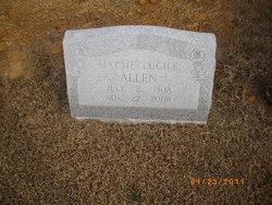 Mattie Lucille Allen