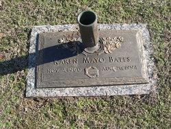 Karen <I>Mayo</I> Bates