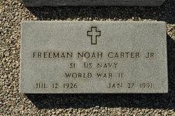 Freeman Noah Carter, Jr