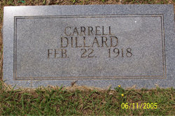 Carrell Dillard
