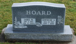 Gertrude Agnes <I>Zimmerman</I> Hoard