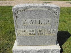 Rosina <I>Rohrer</I> Beyeler