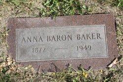 Anna <I>Baron</I> Baker