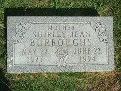 Shirley Jean <I>Wood</I> Burroughs