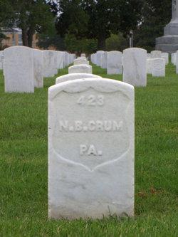 Nathaniel B Crum