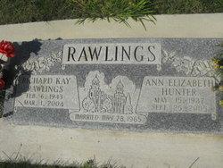 Ann <I>Hunter</I> Rawlings