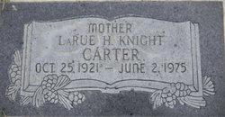 Norma LaRue <I>Haynes</I> Knight Carter