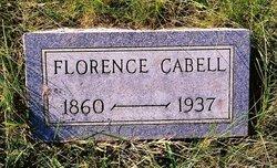 Florence Louise <I>Whitlock</I> Cabell