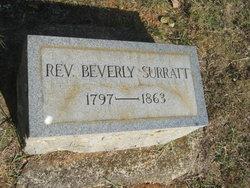 Rev Beverly Surratt