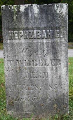 Hephzibah G <I>Weld</I> Wheeler