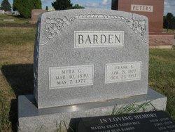 "Francis Stephen ""Frank"" Barden"