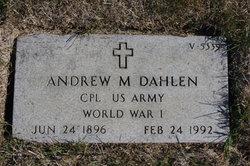 Andrew M Dahlen