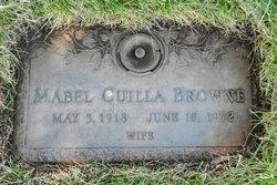 Mabel May <I>Salmonsen</I> Browne