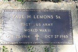 Paul Huey Lemons, Sr
