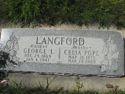 Celia Amanda <I>Pope</I> Langford