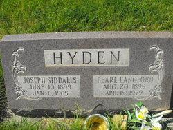 Joseph Siddalls Hyden