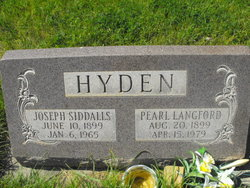 Pearl <I>Langford</I> Hyden