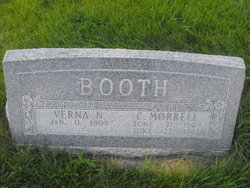 Clarence Morrell Booth