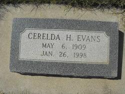 Cerelda H Evans