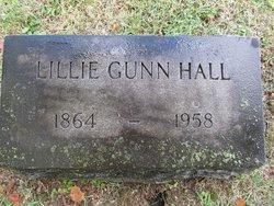 Lillie Carter <I>Gunn</I> Hall