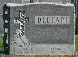 Frank Joseph Blefari, Sr