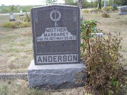 Margaret <I>Davidson</I> Anderson