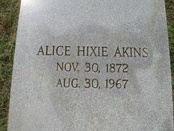 Alice Hixie Akins