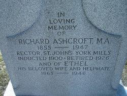 Ethel <I>Kaye</I> Ashcroft