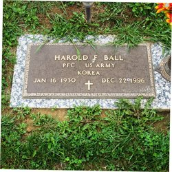 PFC Harold F. Ball