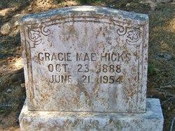 Gracie Mae <I>Shearer</I> Hicks