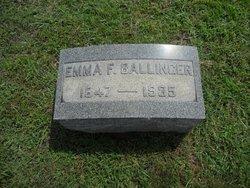 Emma Frances <I>Chew</I> Ballinger