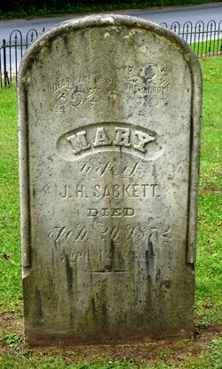 Mary <I>Avery</I> Sackett