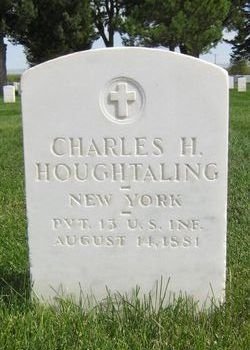 Pvt Charles H Houghtaling