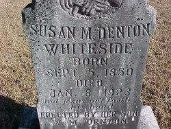Susan M. <I>Denton</I> Whiteside