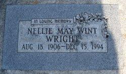 Nellie May <I>Wint</I> Wright