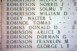 Pvt George L F Robinson