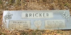 Willie Pearl <I>Reeves</I> Bricker