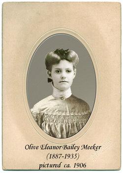 Olive Eleanor <I>Bailey</I> Meeker