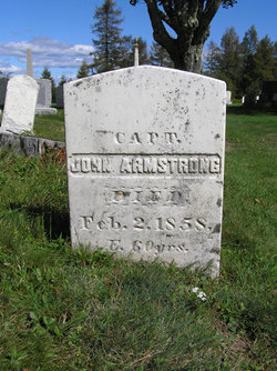 Capt John Armstrong