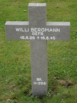 Willi Bergmann
