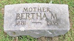 Bertha M Ackermann