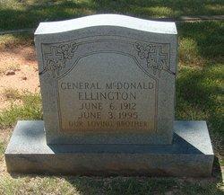 General McDonald Ellington