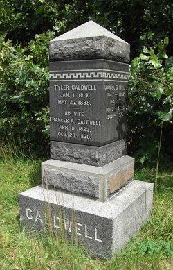 Frances A. <I>Wadleigh</I> Caldwell