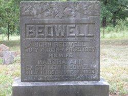 Martha Ann <I>Castelow</I> Bedwell