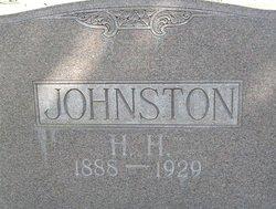 """Hazard Hawkins """"H.H."""" Johnston"""