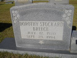 Dorothy Marie <I>Stockard</I> Breece