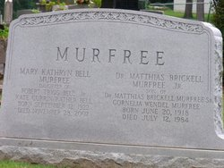 Mary Kathryn <I>Bell</I> Murfree